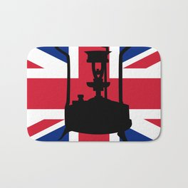 Union Jack and Paraffin pressure stove Bath Mat