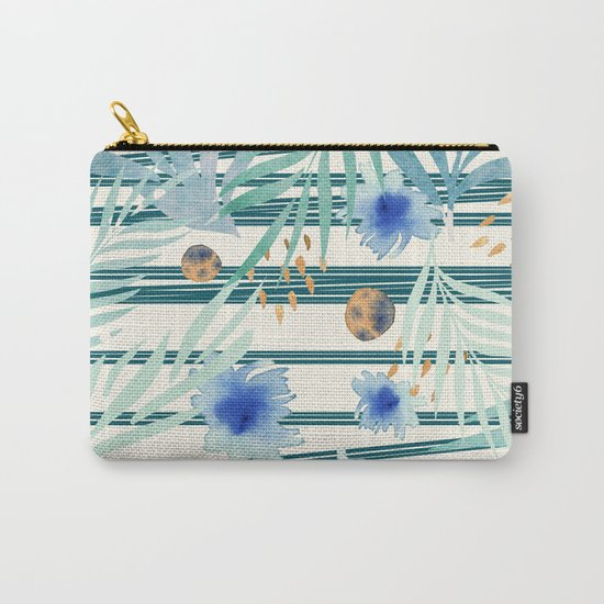 SUMMERTIME STRIPES Carry-All Pouch