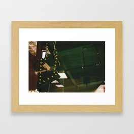 Down with Security Framed Art Print