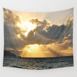 ...And There Was Light Wall Tapestry