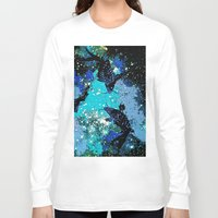 koi Long Sleeve T-shirts featuring Koi  by Saundra Myles