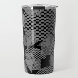 geometry pattern Travel Mug