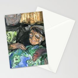 patrick with children Stationery Cards