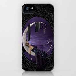 Lavender Moon iPhone Case
