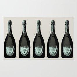 Dom Perignon Champagne Rug