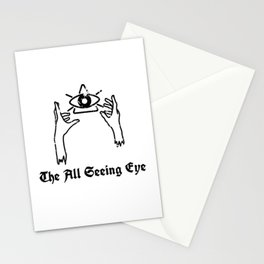 The all seeing eye Stationery Cards