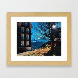 Swiss Town Framed Art Print