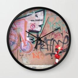 Cluj Graffiti Wall Clock