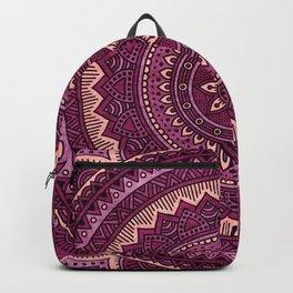 Hippie mandala 39 Backpack