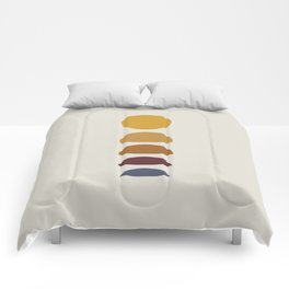 Minimal Sunrise / Sunset Comforters