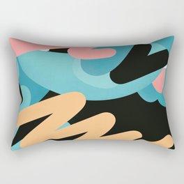 födelse | modern art print Rectangular Pillow