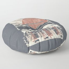 Winter Pursuits... Floor Pillow