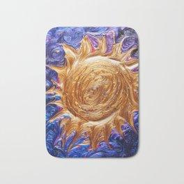 Sun in Space Bath Mat