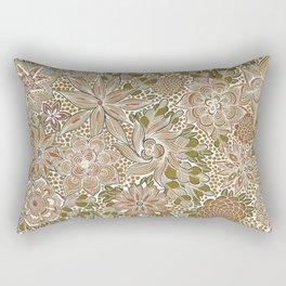 The Golden Mat Rectangular Pillow