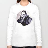 washington Long Sleeve T-shirts featuring Peter Washington by Zombie Rust
