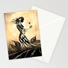 Woman in Gown Stationery Cards