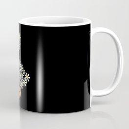 Daisy Funny Goose From Flowers Coffee Mug