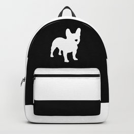 Black Nose FrenchBulldog Frenchies Dog Backpack