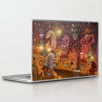 shameless Laptop & iPad Skins featuring Irish Dinner Party by Brian Coldrick