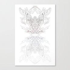 Phoenix Chakra Canvas Print