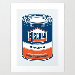 Cascola Art Print