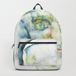 POPE FRANCIS - watercolor portrait.1 Backpack