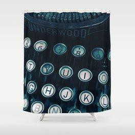 Vintage Type Shower Curtain