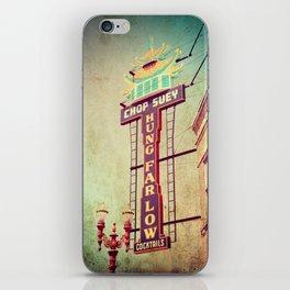 Chop Suey! Portland Oregon iPhone Skin