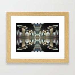 Cologne_Metro_Mirror Framed Art Print