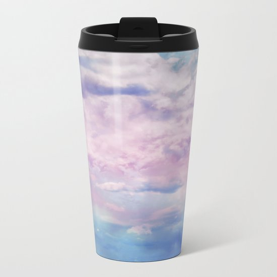 Cloud Trippin' Metal Travel Mug