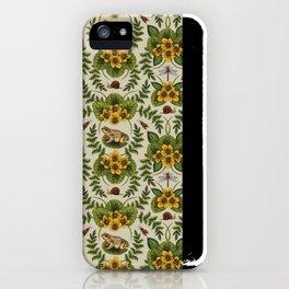 Wetlands Creatures - Toads, Snails, Dragonflies & Marsh Marigolds iPhone Case