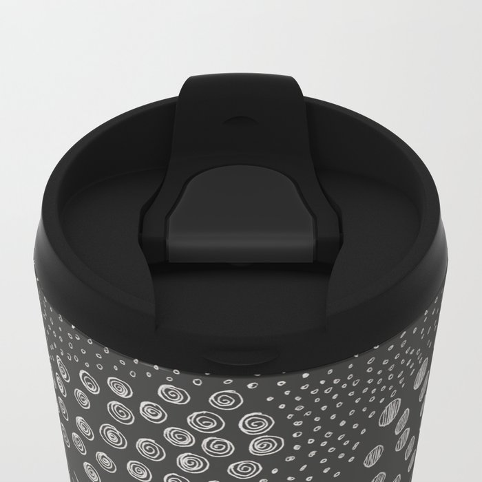 6 elements Metal Travel Mug