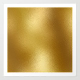 Pure Gold Print Art Print