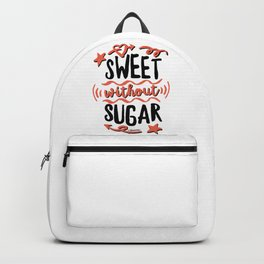 Sweet without Sugar Backpack