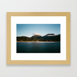 Hanalei Flood Relief Framed Art Print