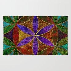 The Flower of Life (Sacred Geometry) 2 Rug