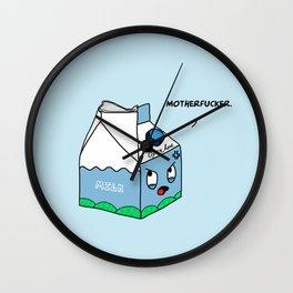 OCD Milk Nightmare Wall Clock