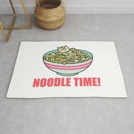 I Love Noodle Kawaii Artwork Rug