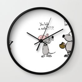 I love cookies Wall Clock