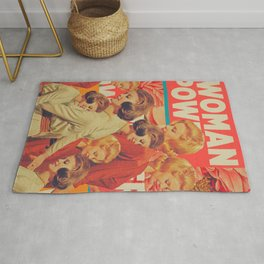 Woman Power Rug