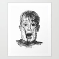 kevin russ Art Prints featuring Kevin by CLASSICS