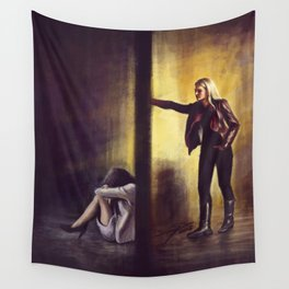 Do You Wanna Happy Ending? Wall Tapestry