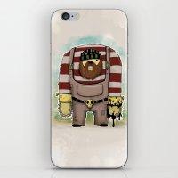 Twoody iPhone & iPod Skin