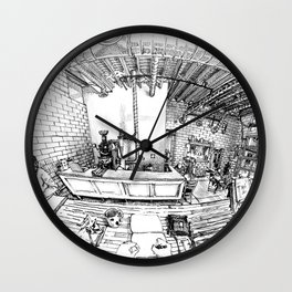 Whittier coffee shop, Denver Wall Clock