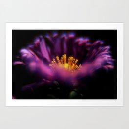 Purple Flame Art Print