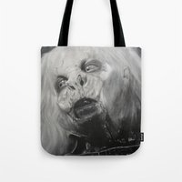 dracula Tote Bags featuring Dracula by Jasmine
