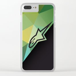 Alpinestars fractals Clear iPhone Case
