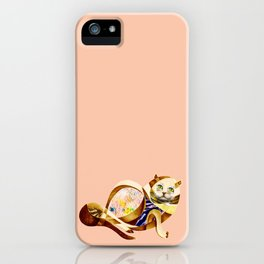 Here Litte Kitty iPhone Case