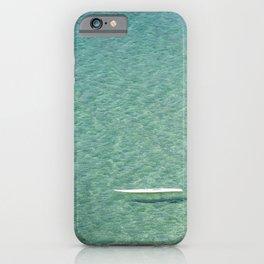 Turquoise Blue Sea iPhone Case