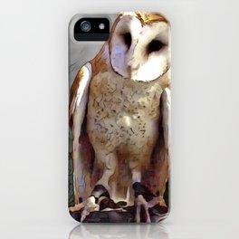 Owl Magic iPhone Case